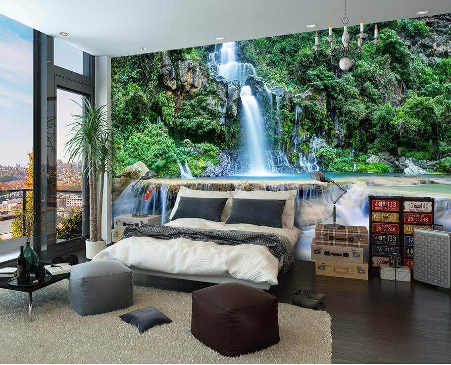 it's a waterfall by WallPro Customized wallpaper