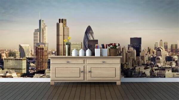 London Skyline by WallPro Customized wallpaper