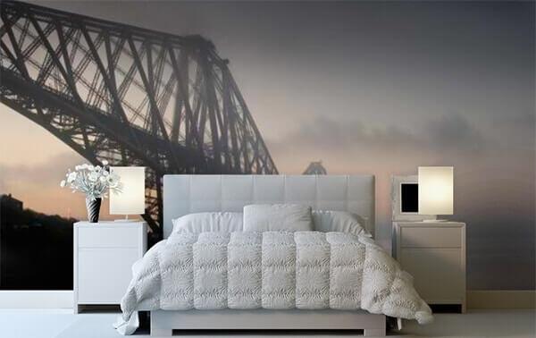 Forth Rail Bridge Scotland by WallPro Customized wallpaper