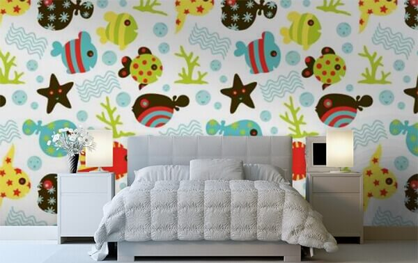 Under Water Fun by WallPro Customized wallpaper