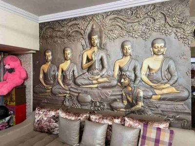 buddha wallpaper by wallpro