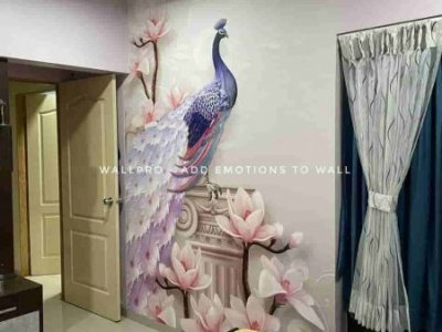 wallpro peacock wallpaper
